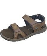 Timberland Governors Island Mens Leather Strap Sandal (11, Dark Brown Nu... - $69.25