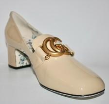 NIB Gucci Patent Leather GG Marmont Heels Pumps - $470.25