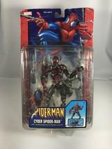 Marvel Toybiz Spider-man  - Cyber Spiderman Action Figure - $98.99