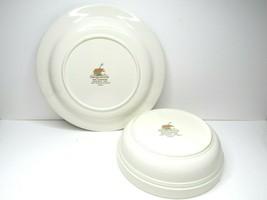 "VTG Sangostone 3645 Country Cottage Sango (1) 9"" Serve Bowl (1) 11 3/4"" ... - $24.42"
