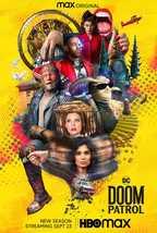 "Doom Patrol Poster Jeremy Carver DC Universe Season 3 TV Series Art Print 24x36"" - £7.89 GBP+"