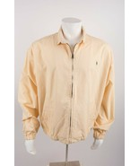 Ralph Lauren Polo Country Men's Bomber Harrington Jacket XL Yellow Vinta... - $88.11