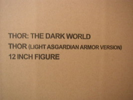 Hot Toys Thor:The Dark World (Light Armor Version) Limited Figure Toy Ne... - $756.00