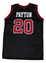Gary Payton #20 Skyline High School New Men Basketball Jersey Black Any Size image 4