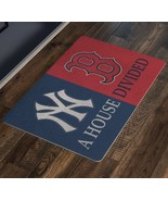 Yankees Boston Red Sox Baseball House Divided Man Cave Decor New York Fa... - $37.00