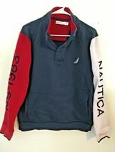Nautica NS-1983 Vintage 90s Quarter Snap Sleeve Spellout Sweatshirt Men'... - $47.45