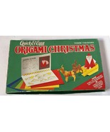 VTG Vintage 1994 1990s Quick and Easy Christmas Origami Craft Kit Set - $19.99
