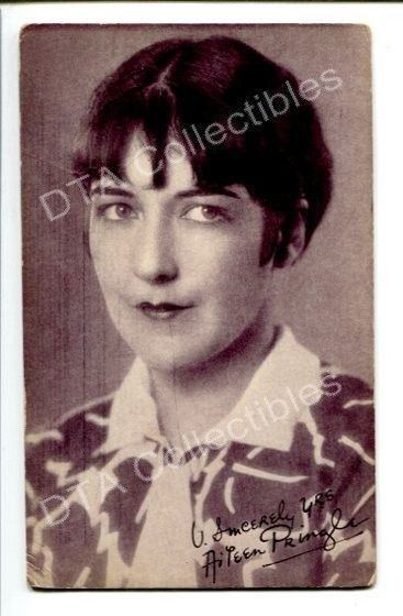 Primary image for AILEEN PRINGLE-PORTRAIT-1920-ARCADE CARD!! G