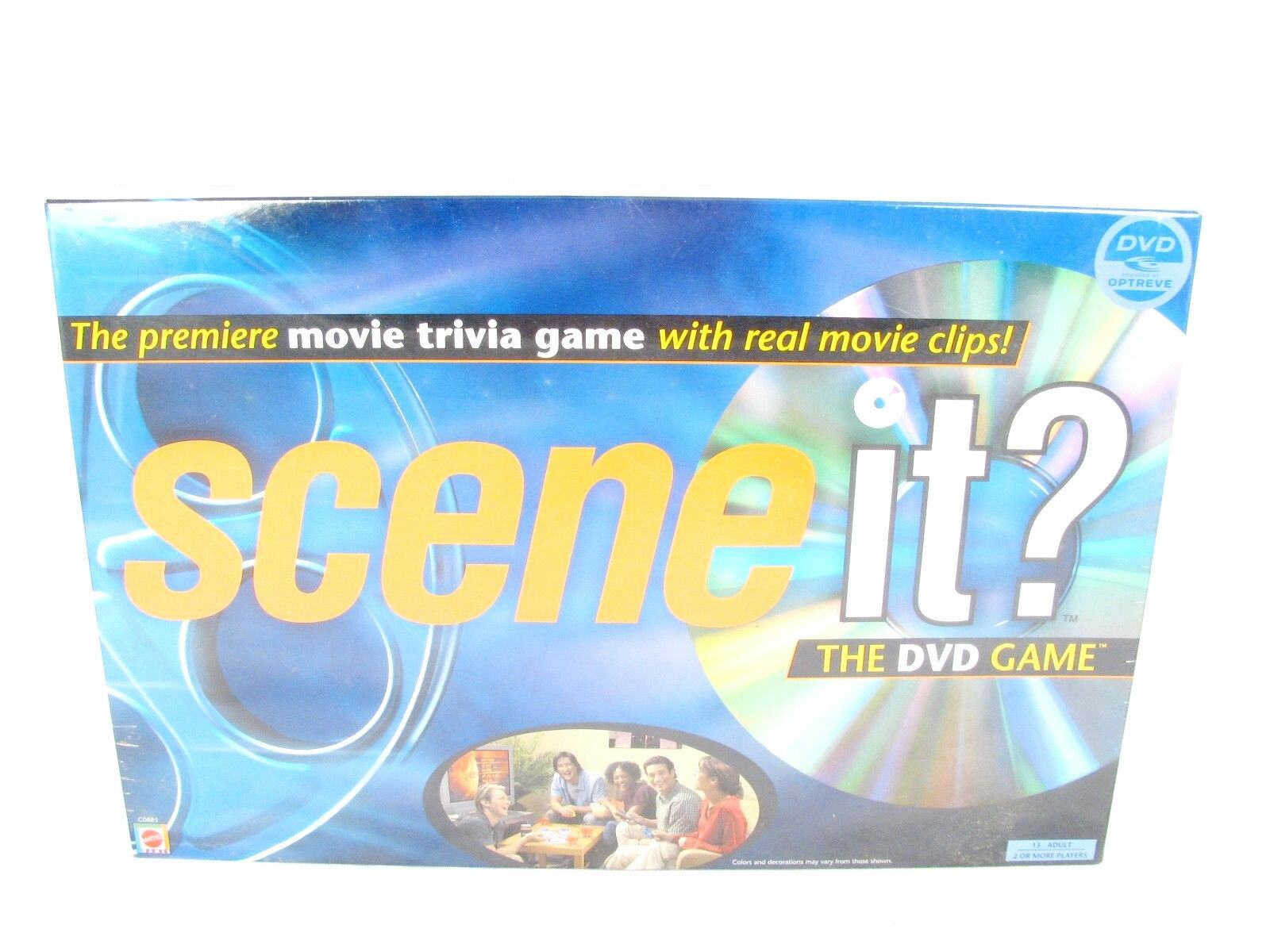 Mattel DVD Game Movie Trivia Real Movie Clips Scene It  - $47.51