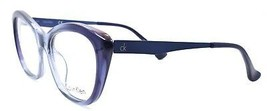 Calvin Klein CK5913 422 Women's Eyeglasses Frames Cat-eye 53-18-140 Blue - $59.20