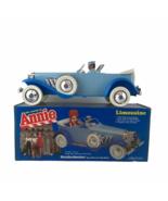 Vintage World Of Annie Duesenberg Toy Limousine 1982 Knickerbocker Origi... - $46.36