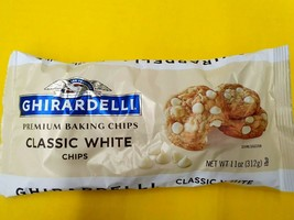 Ghirardelli Classic White Premium Baking Chocolate Chips 11oz (5-bags) - $27.43
