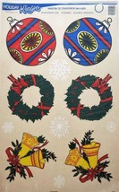Holiday Klingers Christmas Window Clings - Ornament/Wreath/Bells/Snowflakes - $23.39