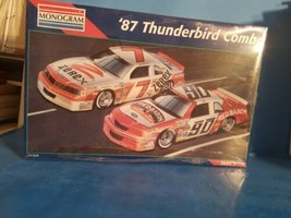 1/24 scale: Monogram: 1987 Thunderbird Combo, kit# 6392 NEW SEALED  - $37.39