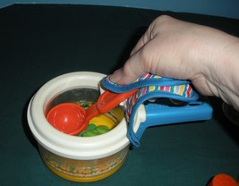 Vintage Fisher Price #2111 Simmering Saucepan Complete/ EXC+++ (S) image 5