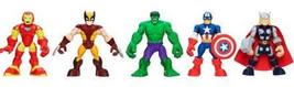 Playskool Heroes, Marvel Super Hero Adventures, Super Hero Team Pack [Wo... - $39.99