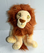 "Walt Disney Store - The Lion King Mufasa Plush Stuffed Animal 8"" Tall EUC - $22.20"