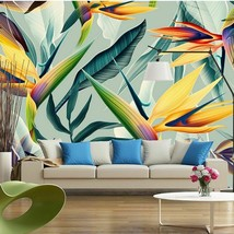 Southeast Asia Tropical Landscape Custom Photo Wallpaper Cloth 3D Colorf... - $13.43