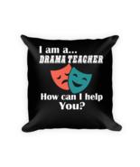 Drama pillows - Square Pillow Case w/ stuffing - $23.00