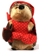 1 Count Petmate ZooBilee Heggie Little Red Plush Dog Toy - $15.99