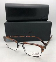 Neuf Persol Rx-Able Lunettes 8359-v 108 51-19 145 Caffe' Tortue & Montur... - $219.52