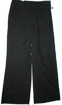 New NWT $60 Gap Modal Wide Leg Dress Pants 6 Black Silky Work Womens Office - $27.00