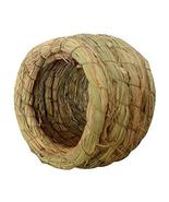DRAGON SONIC Outdoor Bird Nest Braided Birdcage Grass Nest Bird Breeding... - $16.26