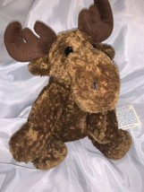 Vintage Stuffed Animal Moose 1999 Princess Soft Toys Inc.  Toys - $10.39