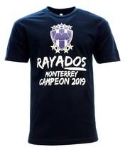 Monterrey Campeon 2019 Fan T-Shirt Crew Neck 100% Cotton - $19.99