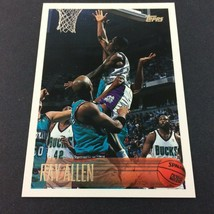 Ray Allen Rookie Card 1996-97 Topps #217 NBA HOF Milwaukee Bucks  - $7.87