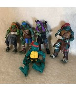 Lot If 5 TMNT 2014 Playmates Movie Loose Action Figures - $7.91