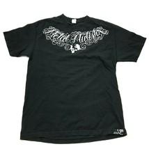VINTAGE Metal Mulisha Shirt Size Large L Black White Tee Motocross MX Ad... - $17.83