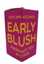 Early Blush Pregnancy Strips, Early Tests HCG 30 Strips Missed Period - $11.87