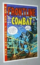 1970's EC Comics Frontline Combat 5 US Army battle comic book cover art poster  - $29.99