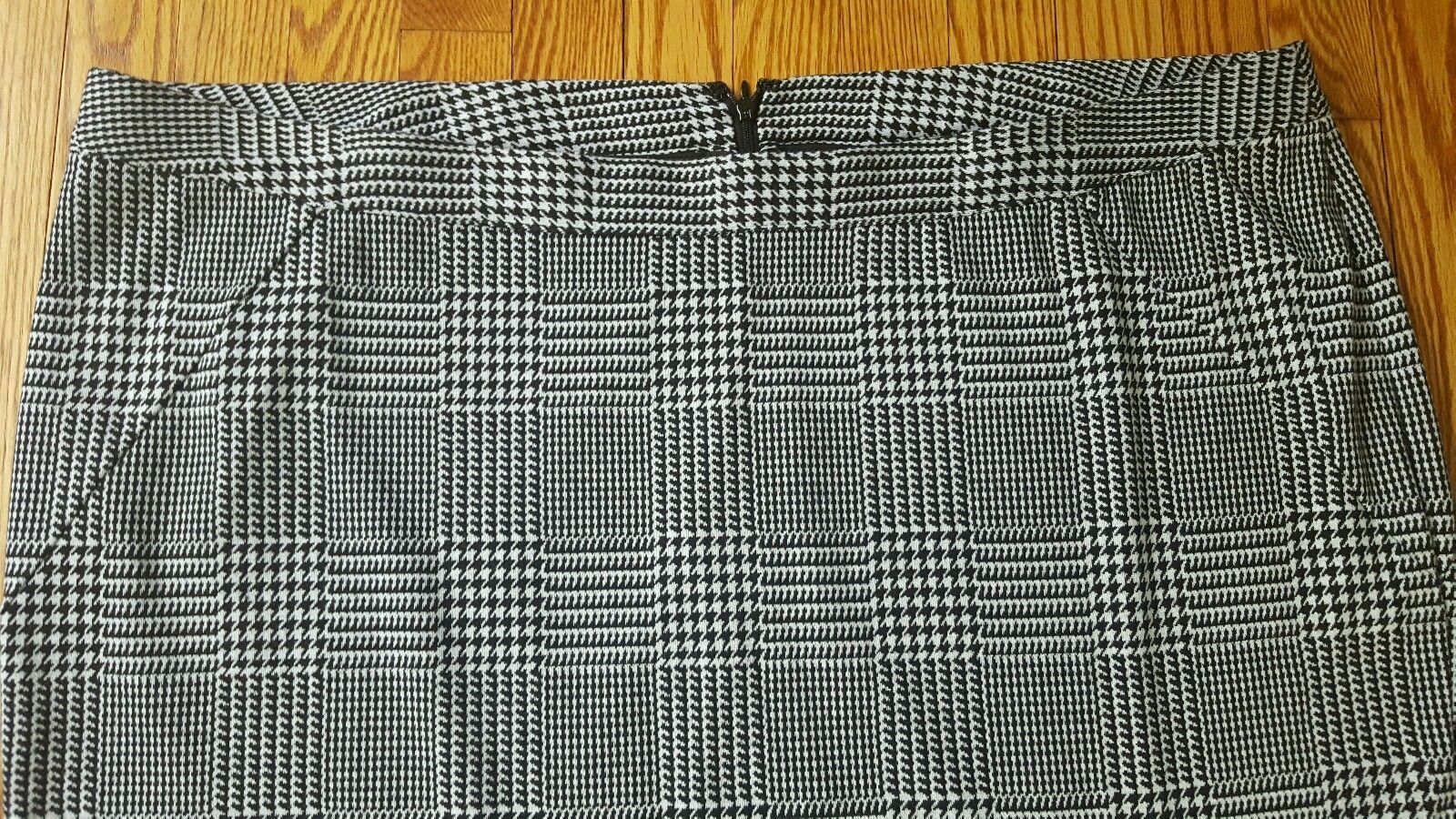 edb402363 LANE BRYANT womens Plus Size 28 Houndstooth A line career Skirt New