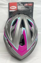 BELL Adult Women's 14 and up Bicycle Helmet Purple And Teal Dial Adjusts - $34.50