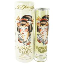 Love & Luck by Christian Audigier Eau De Parfum Spray 3.4 oz for Women - $25.95