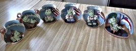 6 frogs All American Green Frogs New - £5.17 GBP