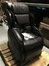 Human Touch Espresso Brown Bali Massage Chair Recliner w Arm Calf + Foot Massage image 2