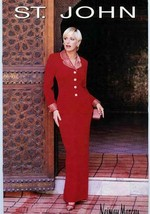 St John by Marie Gray for Neiman Marcus Holiday 1996 Catalog  - $34.65