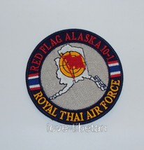 RED FLAG ALASKA 10-1 ROYAL THAI AIR FORCE PATCH, RTAF MILITARY PATCH - $9.95