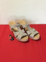 UGG JENNIE PRIMER LEATHER  SHEARLING CLOG SANDALS US 11  EUR 42 - $80.00