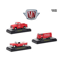 Coca-Cola Release 2, Set of 3 Cars Limited Edition to 4,800 pieces World... - $47.98