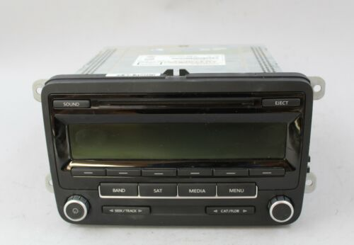 Primary image for 11 12 13 VOLKSWAGEN JETTA GT AM/FM RADIO CD PLAYER RECEIVER
