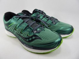 Saucony Triumph ISO 4 Size 9 M (D) EU 42.5 Men's Running Shoes Green S20413-3