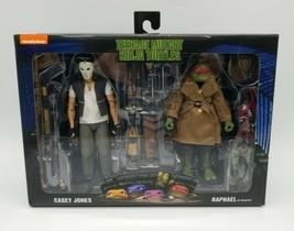 """NECA Teenage Mutant Ninja Turtles 7"""" Figure Movie Casey Jones & Raphael Disguise - $88.98"""