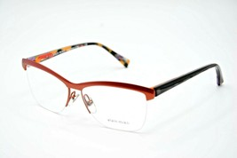 New Vintage Alain Mikli A 02012 3051 Red Eyeglasses Authentic 55-14 W/CASE - $101.92
