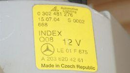 03-07 Mercedes W203 C230 C280 Xenon Headlight Head Light Lamps Set L&R POLISHED image 5