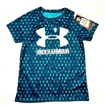 Under Armour loose Girls Athletic T-shirt size small multicolor polyeste... - $16.82