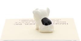 Hagen-Renaker Miniature Ceramic Pig Figurine Spotted Piglet Sitting image 3